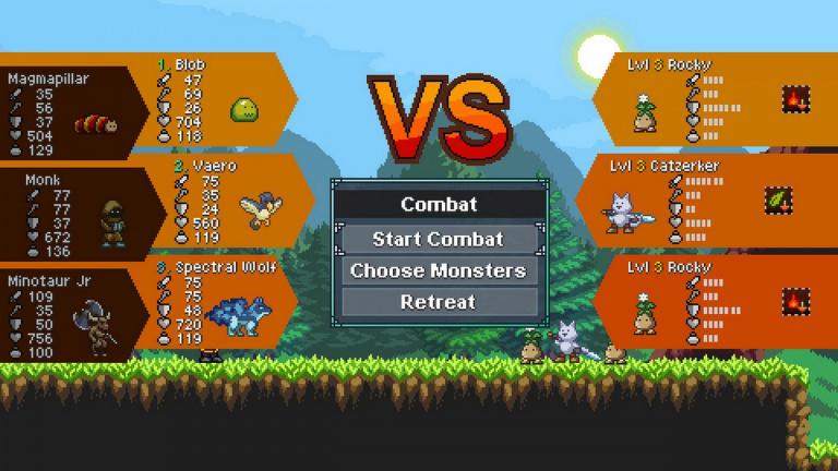 Monster Sanctuary : la dernière mise à jour ajoute les combats entre joueurs