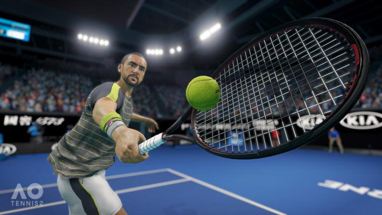 AO Tennis 2 présente un éditeur de contenu pour les joueurs créatifs