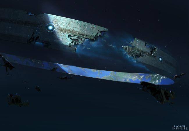 Halo Infinite : Deux nouveaux concept arts dévoilés