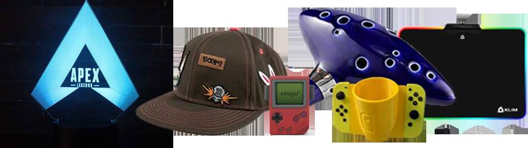 La hotte 2019 des cadeaux originaux pour gamers