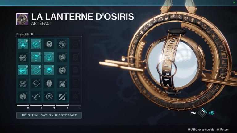 Destiny 2 : l'Artefact de la Saison de l'Aube