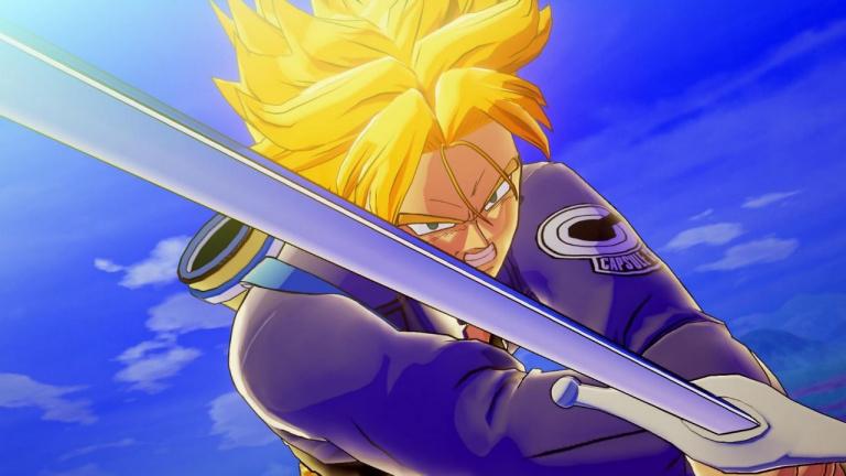 Dragon Ball Z Kakarot : Trunks passe à l'action dans un nouvel extrait de gameplay
