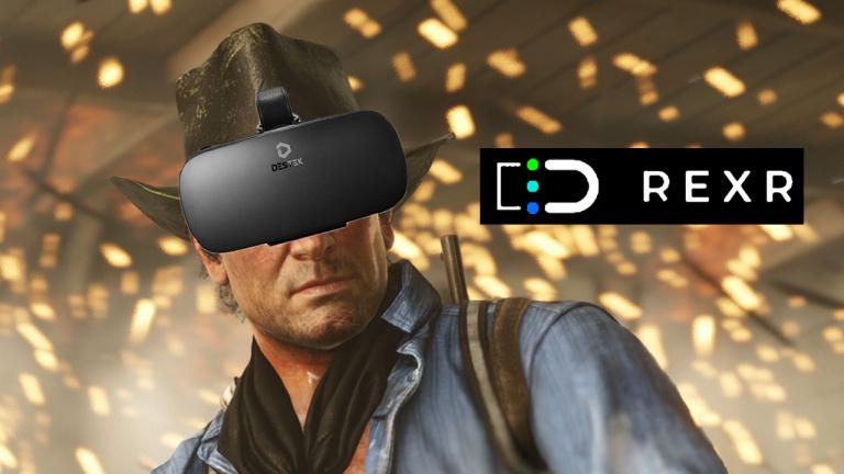 """""""Jouer à RDR2 et Forza en VR"""" : L'improbable promesse de RexR..."""
