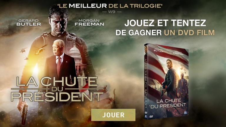 Concours : Jouez et tentez de gagner des Blu-Ray La Chute du Président