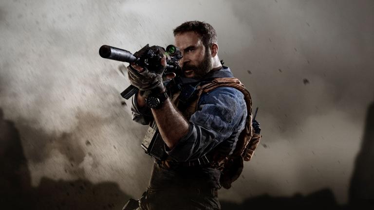 Ventes de jeux au Royaume-Uni : Call of Duty Modern Warfare en tête à Noël