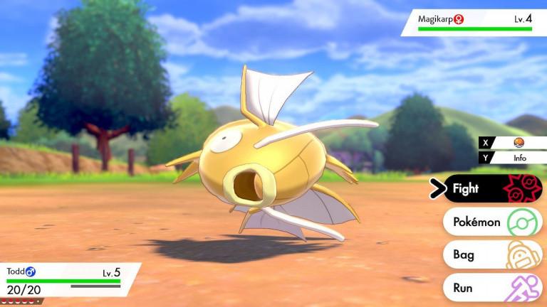 Pokémon Épée / Bouclier : des Magicarpe chromatiques dans les raids pour fêter le Nouvel an