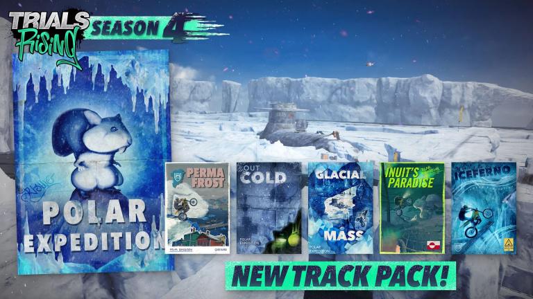 Trials Rising : cinq nouvelles pistes glaciales débarquent aujourd'hui