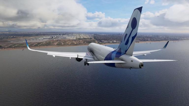 Microsoft Flight Simulator dévoile ses panoramas enneigés