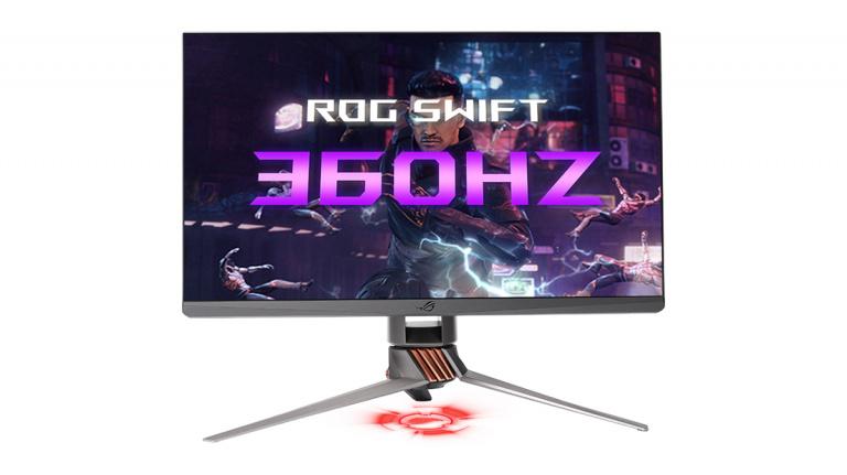 CES 2020 : Avec l'ASUS ROG Swift 360, Asus et Nvidia dévoilent un écran gaming à 360 Hz