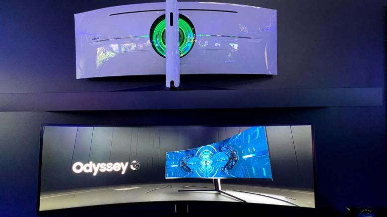 CES 2020 : un très beau moniteur 32:9 incurvé de 49 pouces chez Samsung
