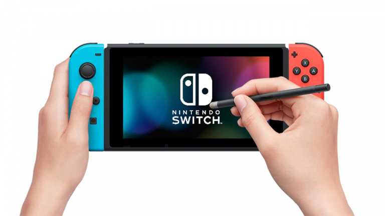 Nintendo Switch - Le stylet officiel s'exporte en France et au Royaume-Uni