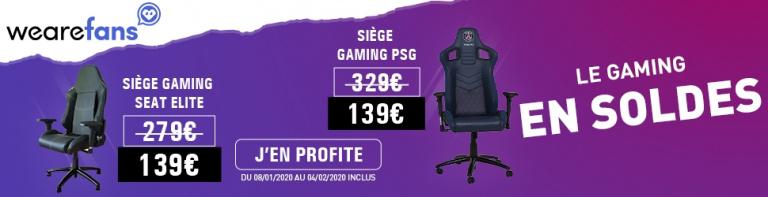Sièges Gaming Esports en promotion !