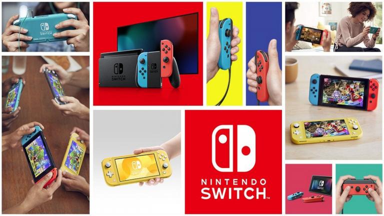 Nintendo a dépassé ses objectifs en France avec 3,3 millions de Switch vendues