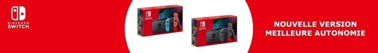 Soldes d'Hiver 2020: Nintendo Switch + Box Cadeaux Gaming à 259€