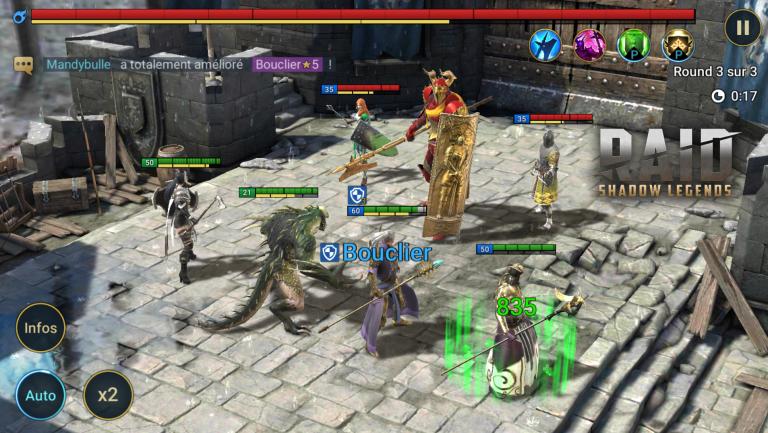 RAID : Shadow Legends, la team parfaite pour le mode campagne, notre guide