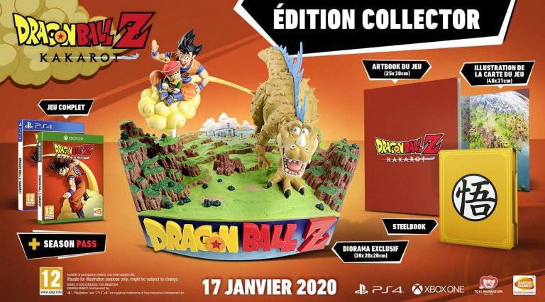 Dragon Ball Z Kakarot collector baisse son prix