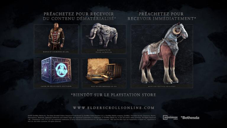 [MàJ] The Elder Scrolls Online - L'extension Greymoor dévoile sa date de sortie et ses bonus de précommande