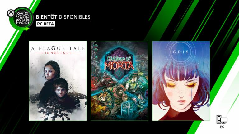 [MàJ] Xbox Game Pass (PC) : A Plague Tale Innocence et Gris arrivent bientôt