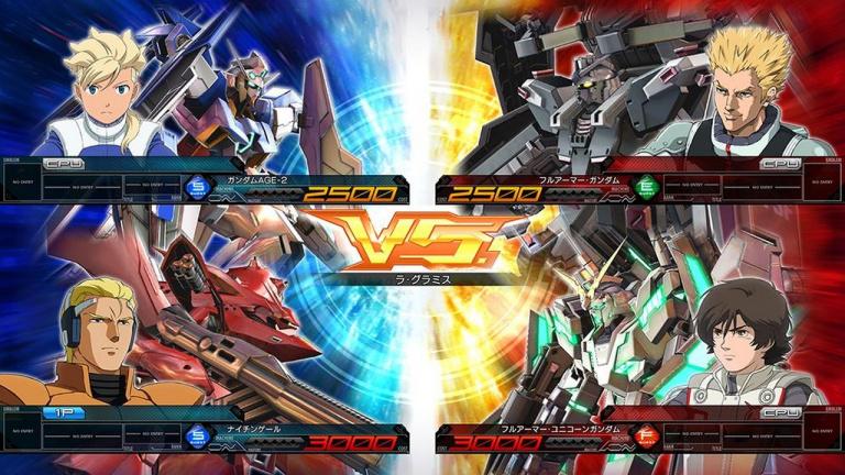 [MàJ] Le jeu d'arcade Mobile Suit Gundam Extreme Vs. Maxi Boost ON va être porté sur PS4