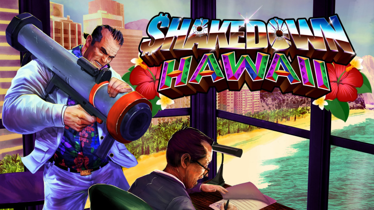 Shakedown Hawaii aperçu sur... Wii U