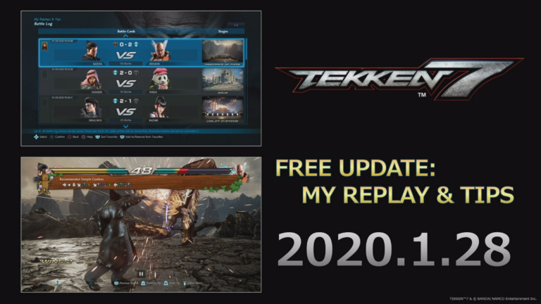 Tekken 7 My Replay Tips Feature Arrives On January 28 News Archyde