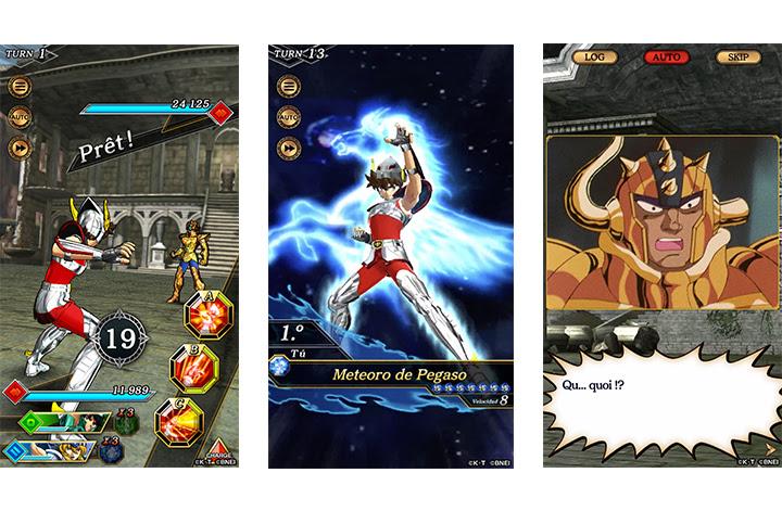 [MàJ] Saint Seiya Shining Soldier en approche sur les mobiles européens