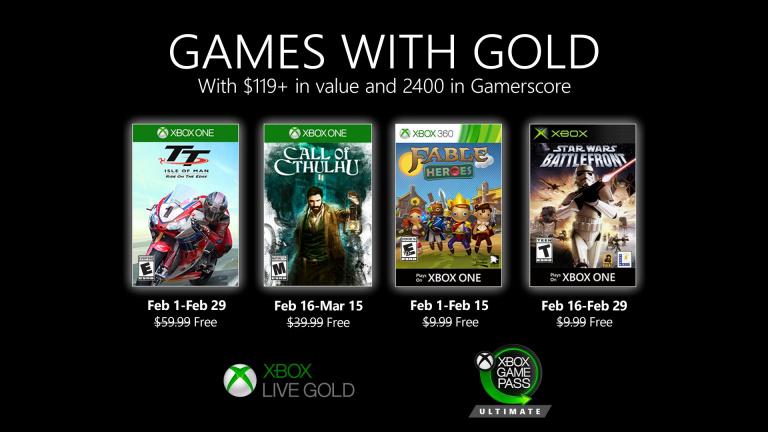 """Xbox Games With Gold : Les jeux """"offerts"""" de février 2020"""