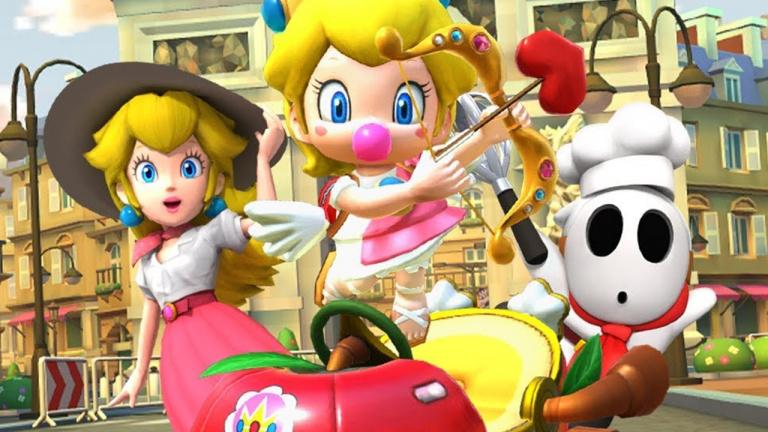 Mario Kart Tour fête la Saint-Valentin et l'arrivée de Baby Peach