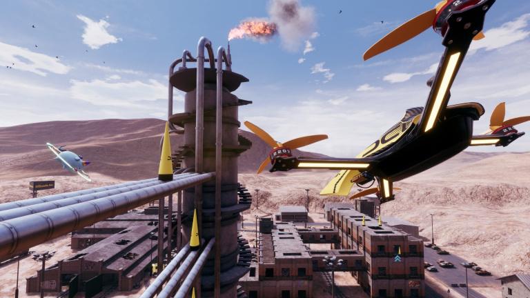 DCL : The Game - La course de drones débute en février sur PC et consoles