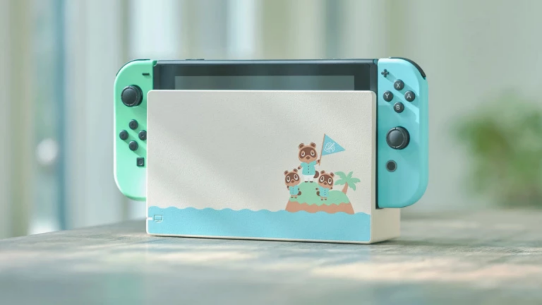 Une console collector Animal Crossing New Horizons — Nintendo Switch