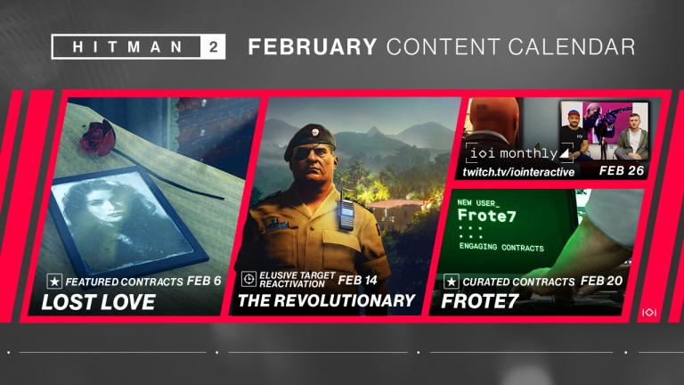 """Hitman 2 : la cible fugitive """"Le Révolutionnaire"""" va revenir le 14 février"""