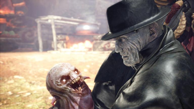 La version PC de Monster Hunter World : Iceborne accueille Leon et Claire de Resident Evil 2