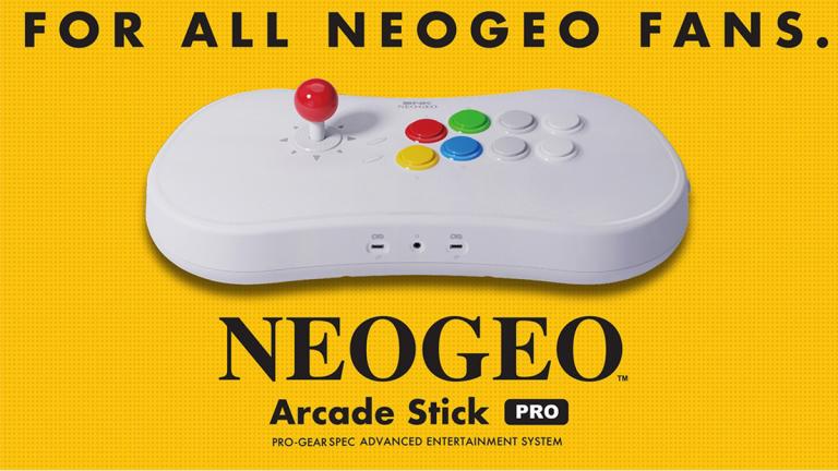Le Neo-Geo Arcade Stick Pro accueille deux nouveaux jeux gratuits