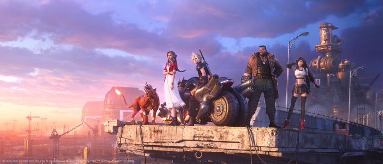 Final Fantasy VII Remake : Un nouveau visuel officiel pour marquer l'arrivée des protagonistes