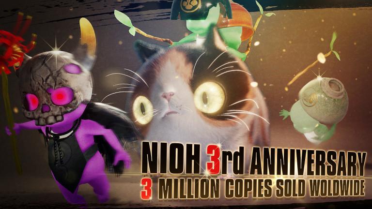 [MàJ] Nioh : Koei Tecmo annonce près de trois millions d'unités distribuées