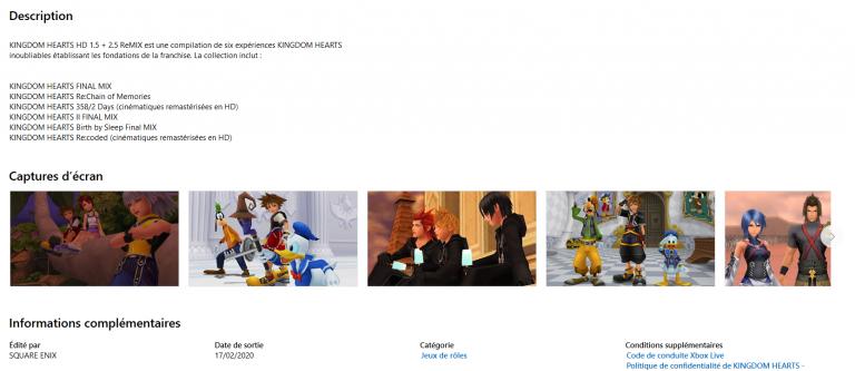 [MàJ] Kingdom Hearts HD 2.8 Final Chapter Prologue arrivera le 18 février sur Xbox One