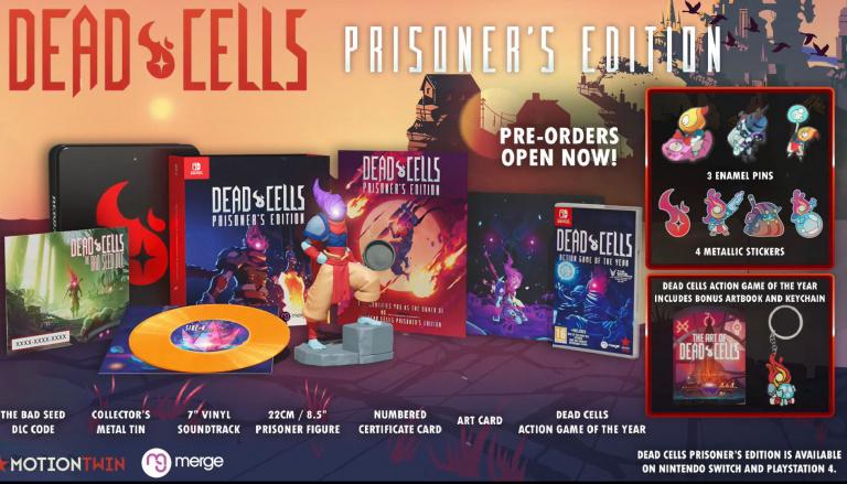 Dead Cells dévoile son édition collector sur Switch et PS4