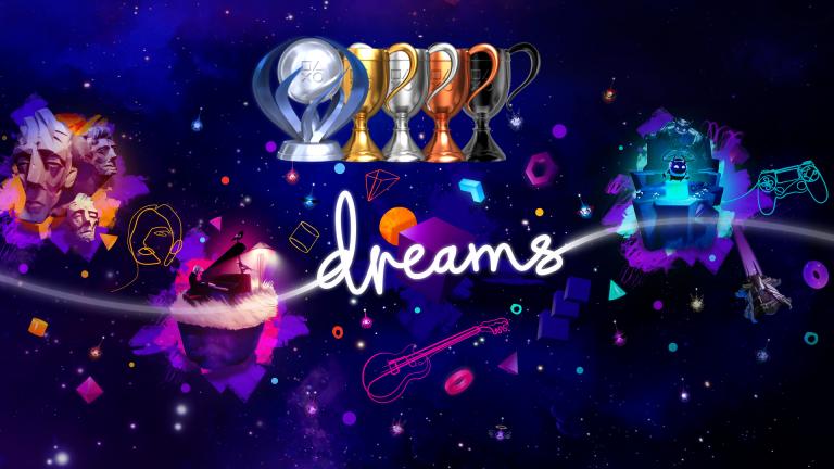 Dreams : la liste complète des 39 trophées est disponible