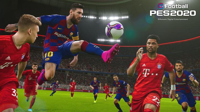 eFootball PES 2020 - Le Data Pack 4.0 est disponible