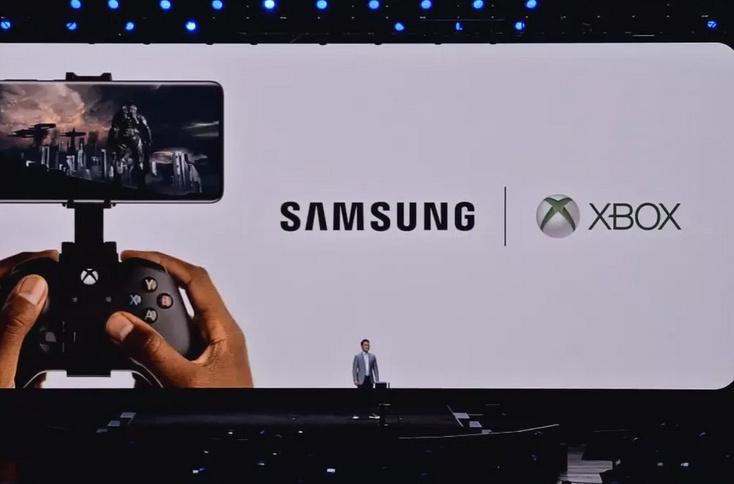 Samsung et Microsoft s'associent pour le projet xCloud