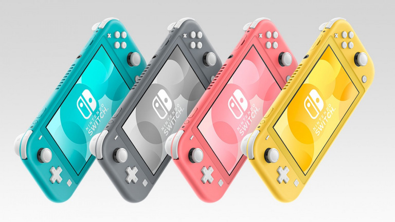 Une Nintendo Switch Lite couleur corail annoncée au Japon