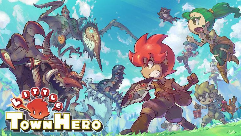 Little Town Hero date sa sortie physique sur PS4 et Switch