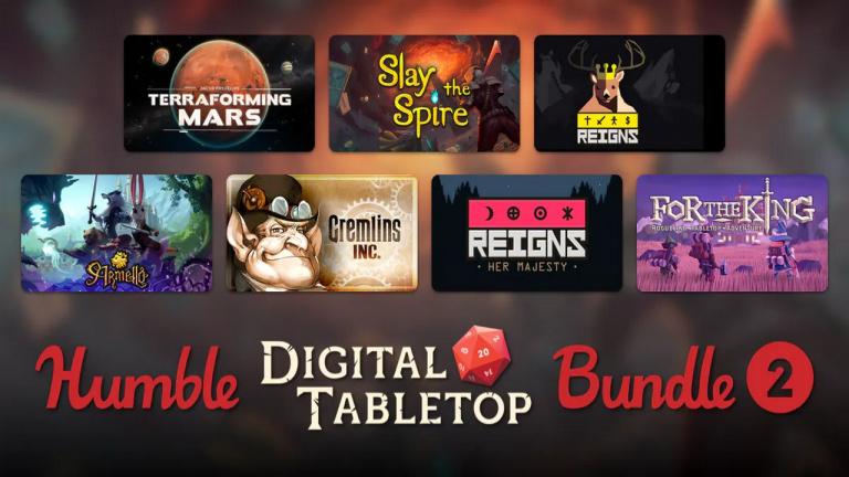 Humble Bundle : le Digital Tabletop Bundle 2 réunit Slay the Spire, Reigns, For the King...