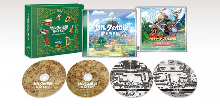 The Legend of Zelda : Link's Awakening - L'OST est disponible en précommande au Japon