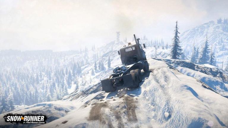 SnowRunner - Deux véhicules supplémentaires pour traverser les terres enneigées