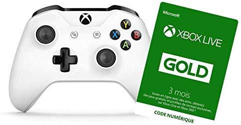 Le retour de la manette Xbox One + 3 mois Xbox Live Gold à 53,20