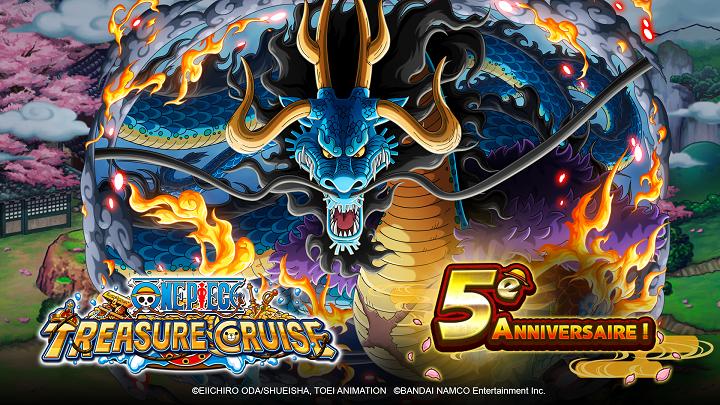 One Piece Treasure Cruise célèbre son cinquième anniversaire