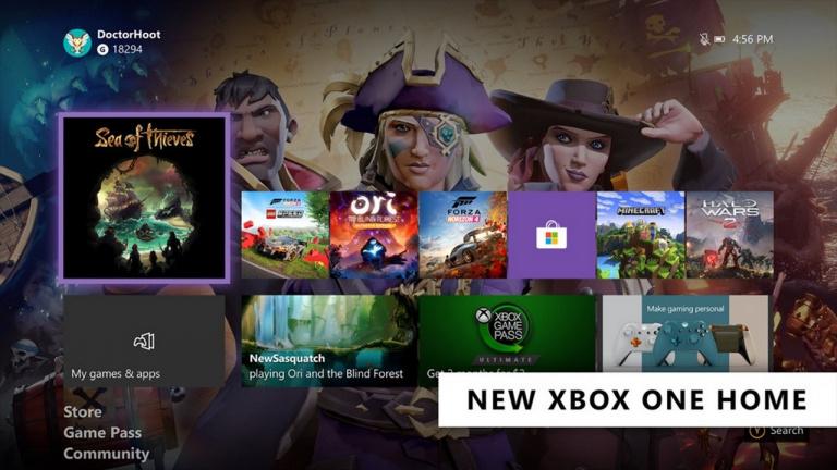 Xbox One : la console se met à jour avec un nouvel écran d'accueil