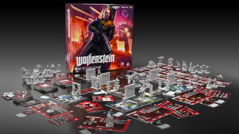 La licence Wolfenstein adaptée en jeu de plateau, une campagne Kickstarter en approche