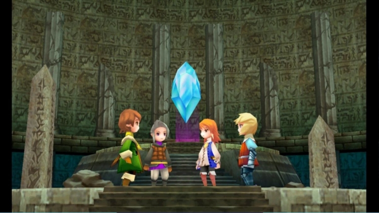 Final Fantasy III se met à jour sur PC, iOS et Android